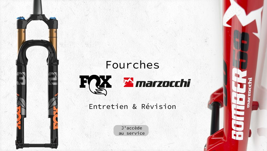 Révision fourches Fox & Marzocchi